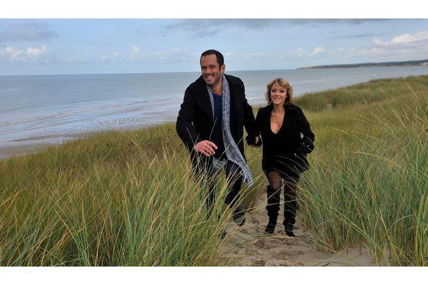 Ils se sont retrouvés, en octobre, sur la plage du Touquet pour un week-end en amoureux. « C'est vraiment la femme de ma vie », dit Christian Vadim de Julia Livage, chroniqueuse à « Télématin ».