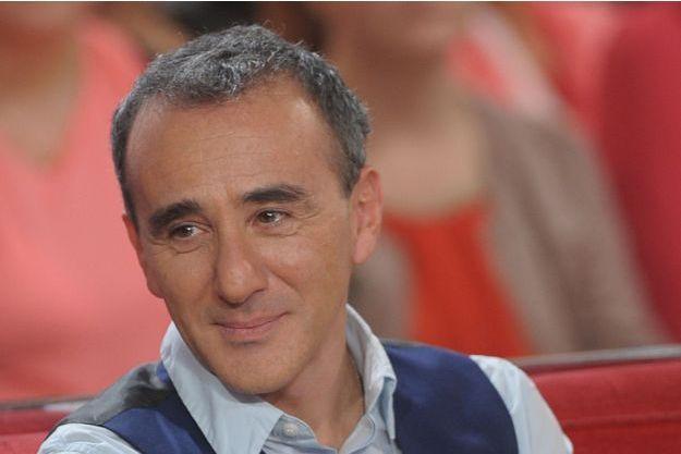 """Elie Semoun en décembre dernier sur le canapé de """"Vivement Dimanche"""""""
