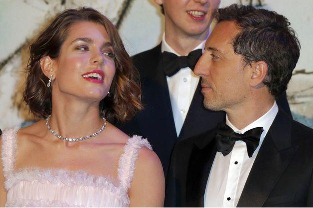 Charlotte Casiraghi et Gad Elmaleh au Bal de la Rose en mars 2013.