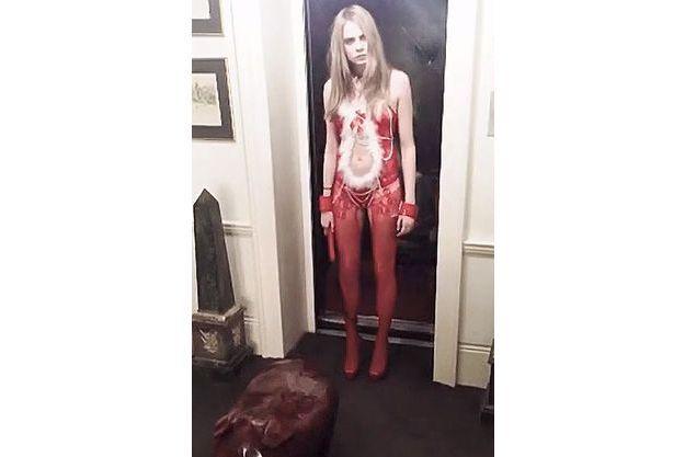 Cara Delevingne dans la vidéo tournée par sa soeur.