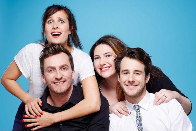 Julie de Bona, Charlotte Gaccio, Thomas Lempire, et Bertrand Usclat.