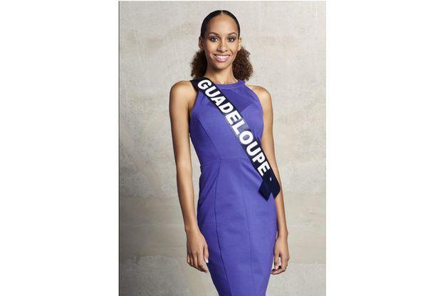 Johanna Delphin, Miss Guadeloupe, 20 ans, a déjà fait forte impression.