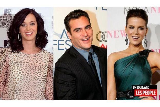 Katy Perry, Joaquin Phoenix et Kate Beckinsale