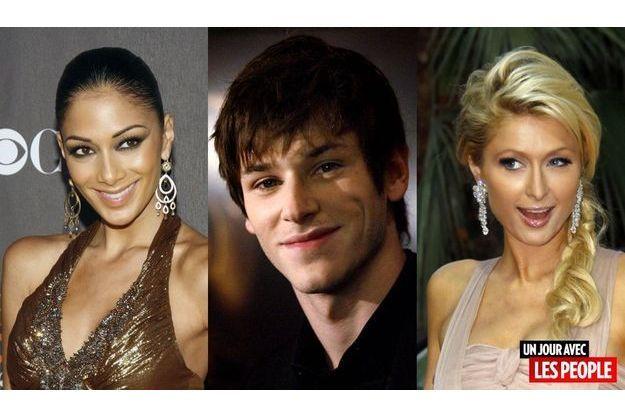 Nicole Scherzinger, Gaspard Ulliel, Paris Hilton