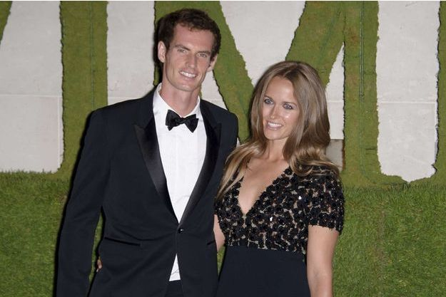 Andy Murray et Kim Sears à Londres à Londres le 7 juillet 2013