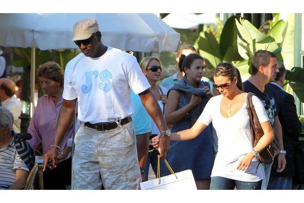 Michael Jordan et sa fiancée, en vacances à Monaco.