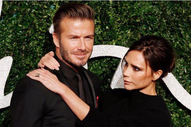 David et Victoria Beckham, mariés depuis 16 ans.