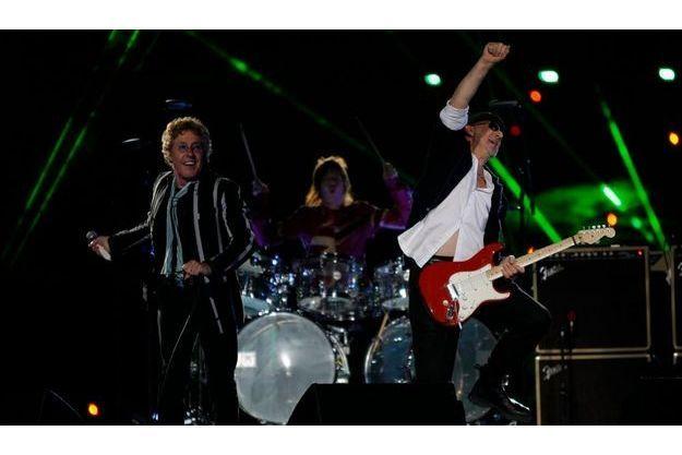 The Who ont enflammé la mi-temps du Superbowl cette nuit à Miami.
