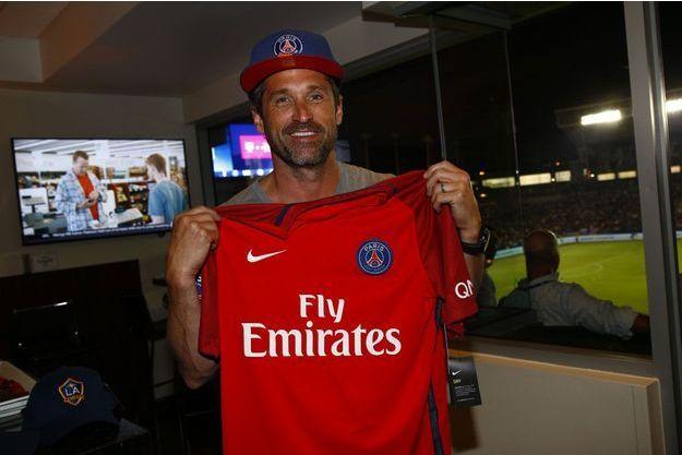 Patrick Dempsey a assisté à un match du PSG à Los Angeles