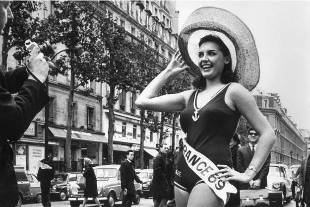 Suzanne Angly, Miss France 1969.
