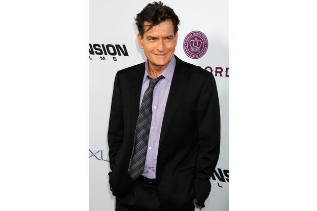 Charlie Sheen à l'avant-première de «Scary Movie 5» en avril 2013 à Hollywood