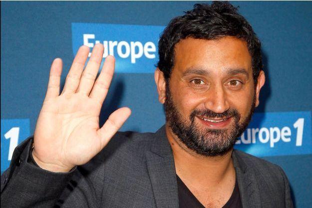 Cyril Hanouna à la conférence de presse de la rentrée d'Europe 1 en 2014.