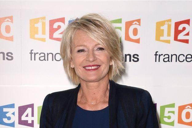 Sophie Davant au siège de France Télévision le 4 novembre dernier.