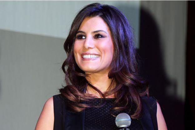 Karine Ferri à la soirée de lancement du calendrier Pirelli 2015 le 22 janvier dernier à Paris.