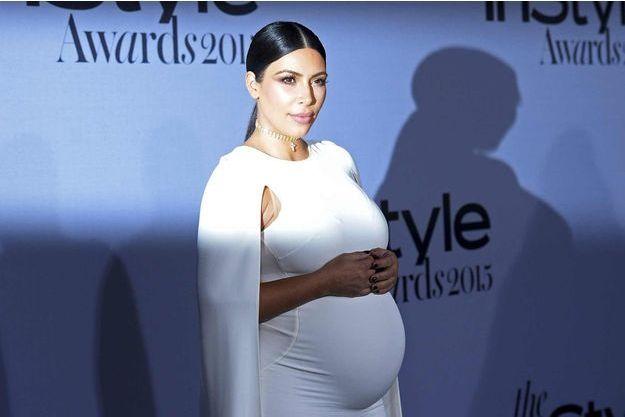 Kim Kardashian le 26 octobre dernier aux InStyle Awards à Los Angeles.