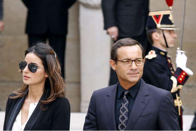 Jean-Luc Delarue et Anissa en juin 2011.