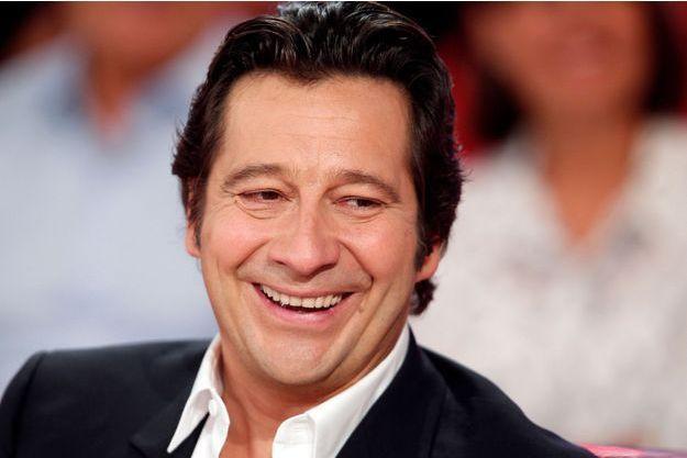 """Laurent Gerra à l'enregistrement de l'émission """"Vivement Dimanche"""" le 20 octobre dernier."""