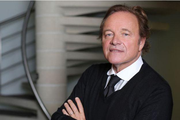 Guillaume Durand dans les locaux de Radio Classique en septembre dernier.