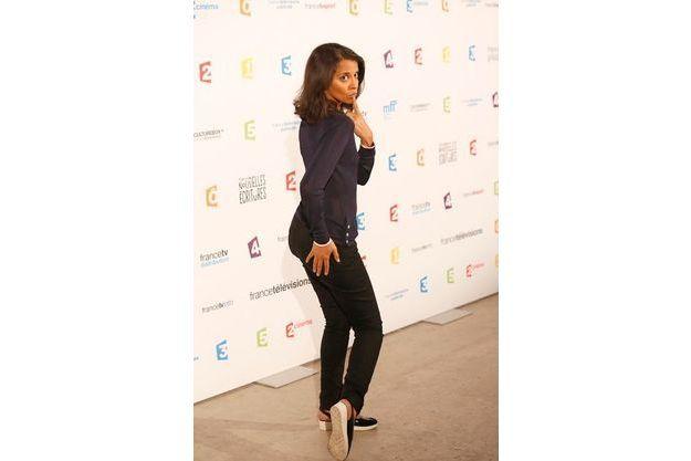 Sophia Aram, lors de soirée de rentrée de France Télévisions le 27 août dernier.