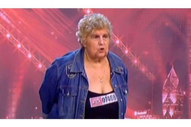 Mémé Loubard aura marqué de son empreinte les premières auditions de X Factor.