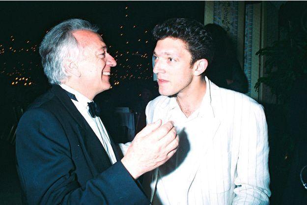 Jean-Pierre Cassel et son fils Vincent en 1995