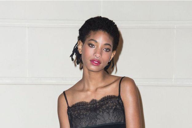 Willow Smith, le 6 décembre 2016 à Paris.