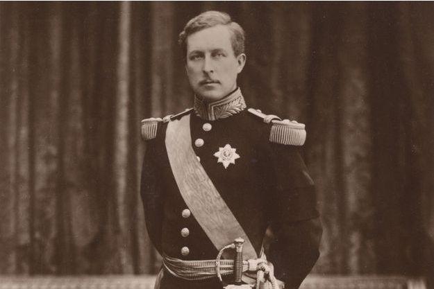 Le roi des Belges Albert Ier, vers 1910