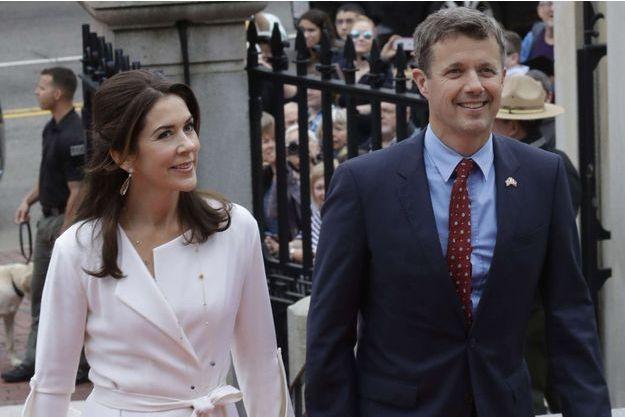 La princesse Mary et le prince Frederik de Danemark à Boston, le 30 septembre 2016