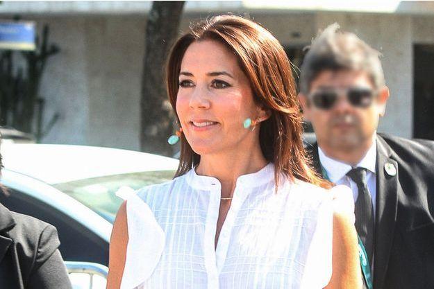 La princesse Mary de Danemark à Rio de Janeiro, le 2 août 2016