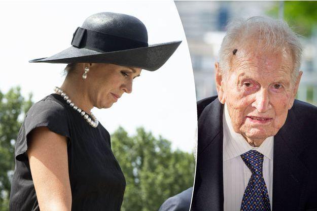 La reine Maxima des Pays-Bas, le 17 juillet 2017 - Son père Jorge Zorreguieta, le 11 octobre 2016