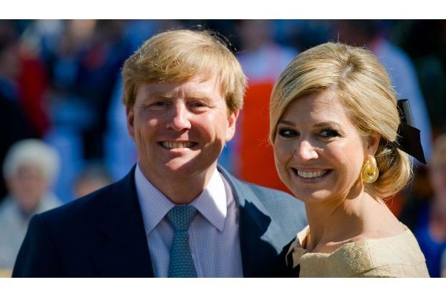 Willem-Alexander et Maxima.