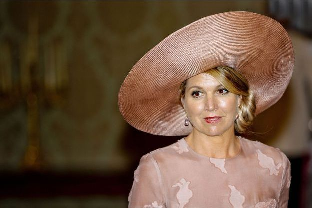 La reine Maxima des Pays-Bas le 20 juin 2017