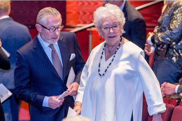 La princesse Christina de Suède et son mari Tord Magnuson à Stockholm, le 27 janvier 2017