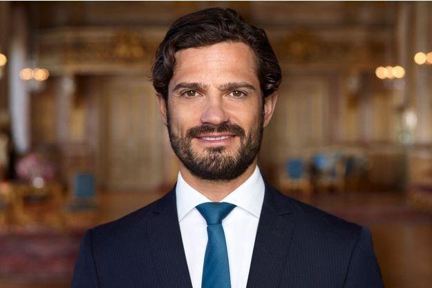 Le prince Carl Philip de Suède à Stockholm, en avril 2015