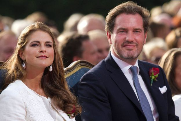 Madeleine de Suède et Chris O'Neill, son mari.