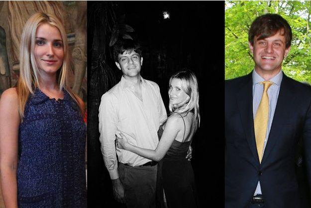 Photo diffusée le 8 août 2016 pour les fiançailles du prince Ernst August de Hanovre et de Ekaterina Malysheva. A gauche et à droite, les futurs mariés le 30 avril 2014
