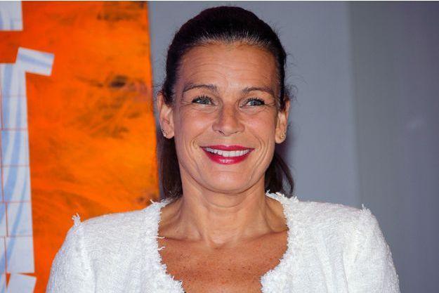 La princesse Stéphanie de Monaco à Monaco, le 1er décembre 2014