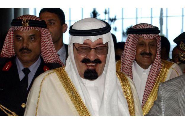 Le roi Abdallah d'Arabie saoudite.