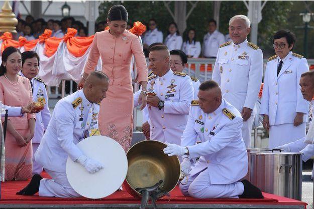 La princesse Sirivannavari Nariratana de Thaïlande à Bangkok le 7 janvier 2018