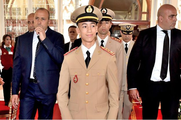 Le prince Moulay el Hassan du Maroc à Rabat, le 14 mai 2017