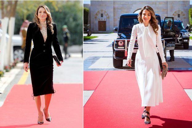 La reine Rania de Jordanie à Amman les 7 et 6 novembre 2016