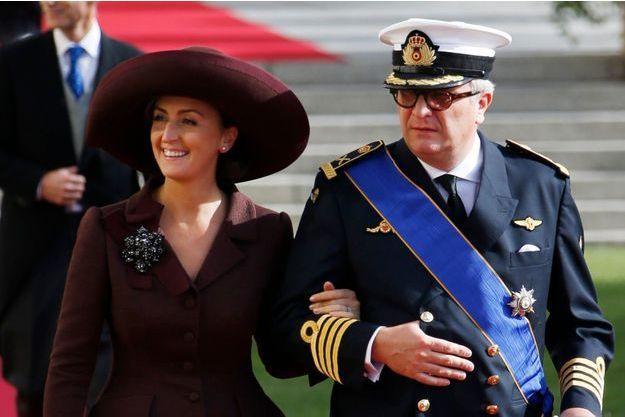 Claire et Laurent de Belgique en 2012.