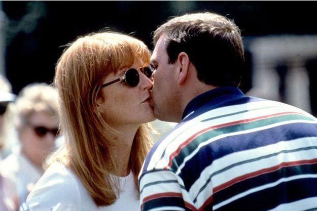 Fergie et Andrew, trois mois après leur mariage, en 1986