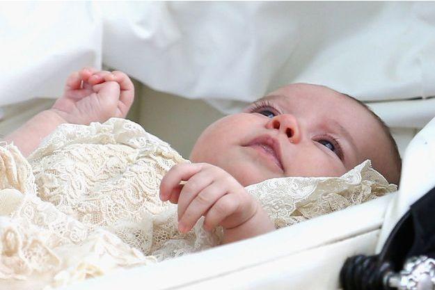 La princesse Charlotte avec son frère le prince George.