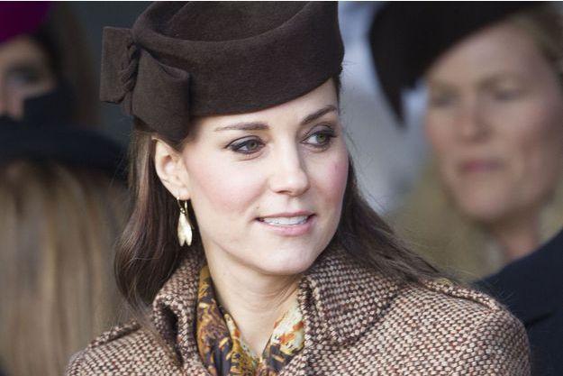 Kate à Sandringham, le 25 décembre 2014