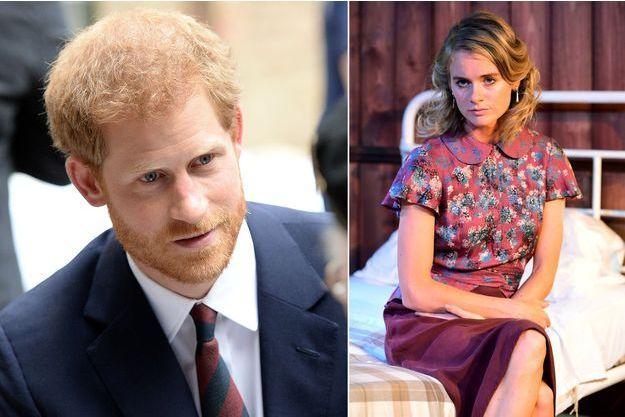 """Le prince Harry le 13 juillet 2017 - Cressida Bonas dans la pièce """"Mrs Orwell"""" le 31 juillet 2017"""