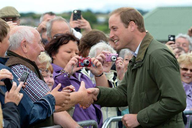 William à la Foire d'Anglesey, ce mercredi.