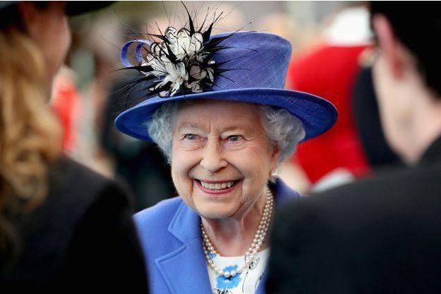 Elizabeth II , le 1er juin à Londres.