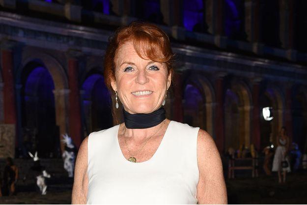 Sarah Ferguson, duchesse d'York, à Venise le 10 septembre 2017