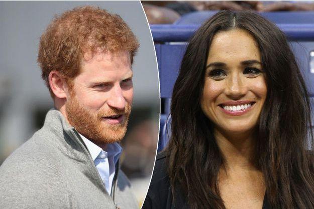 Le prince Harry à Bath le 7 avril 2017 - Meghan Markle à New York le 7 septembre 2016